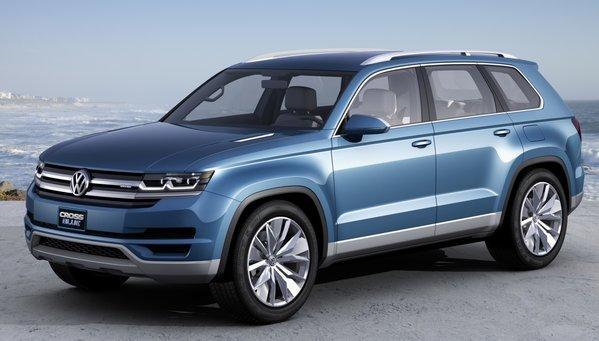 Volkswagen's CrossBlue concept SUV