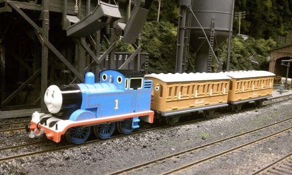 Thomas theTank Engine will be running on the track at the Lehigh & Keystone Valley Model Railroad Museum in Bethlehem Jan. 13.