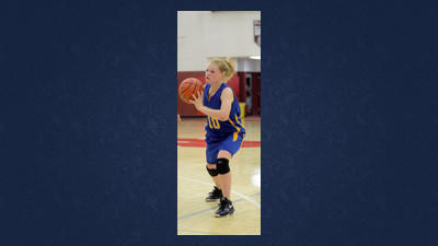Shanksville junior guard Gretchen Shultz looks to pass to a teammate in a game earlier this season.