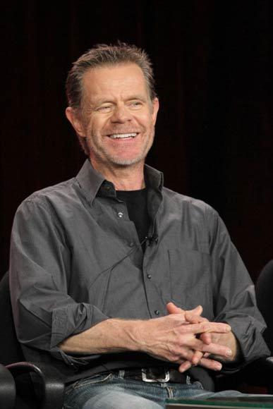 Overheard at 2013 Winter TV Press Tour: Theyve installed special lo-cal scenery, Ive been eating so much of it. -- William H. Macy on getting to play big on Shameless.