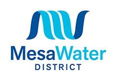 The new logo for the Mesa Water District.
