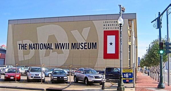 The National World War II Museum in New Orleans is opening a $35-million pavilion to exhibit military aircraft.
