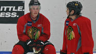 Slowly but surely over the last few weeks, Blackhawks players arrived in Chicago and eventually made their way to the team's practice rink for informal workouts.