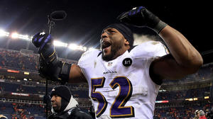 Ray Lewis calls win over Broncos among greatest in Ravens history