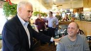 Out of Washington, Pence redefines his image