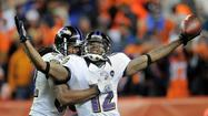 Ravens 38-35 victory over the Broncos