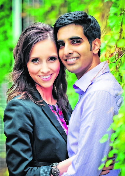 Neil Amar and Ashley Gilchrist of Houston, TX are engaged and plan a March 2013 wedding in Houston. Parents of the couple are Drs. NJ and Meera Amar of Waco, TX and Terry and Lorie Gilchrist of Columbia, SD. The groom-to-be graduated  from the University of Texas Medical Branch. He is employed as  an Allergy & Immunology fellow at the University of Texas Medical Branch. The bride-to-be graduated from the Sanford School of Medicine. She is employed as a Psychiatry resident at Baylor College of Medicine in Houston, TX. The couple will reside in Houston.