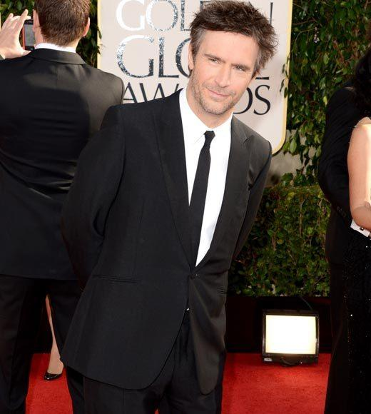 Photos: Golden Globes 2013 red carpet arrivals: Jack Davenport