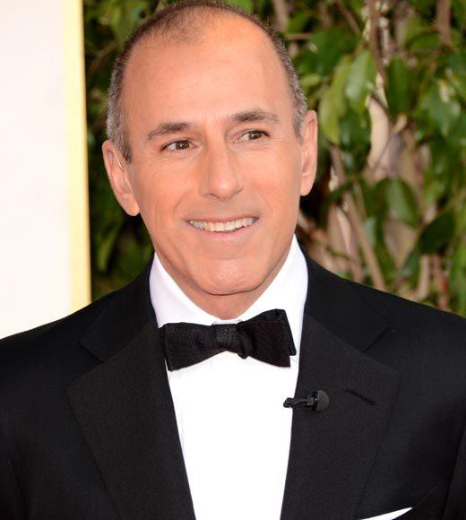 Photos: Golden Globes 2013 red carpet arrivals: Matt Lauer