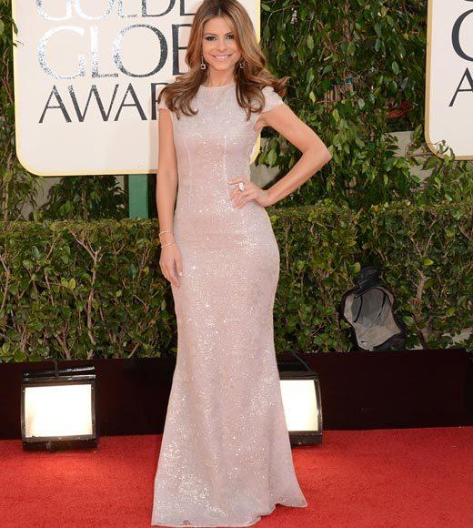 Photos: Golden Globes 2013 red carpet arrivals: Maria Menounos