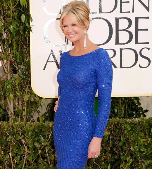 Photos: Golden Globes 2013 red carpet arrivals: Nancy ODell