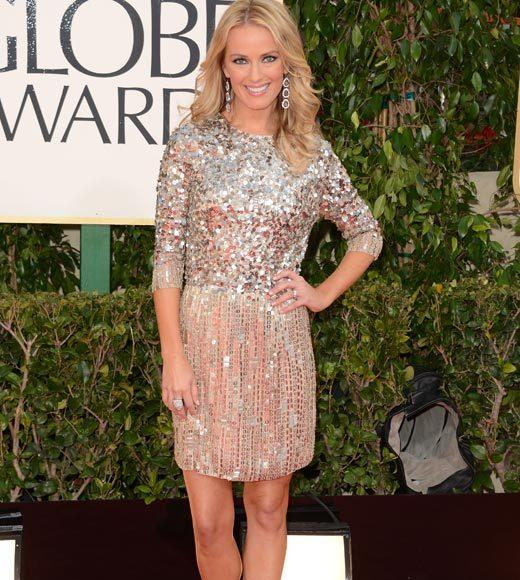 Photos: Golden Globes 2013 red carpet arrivals: Brooke Anderson
