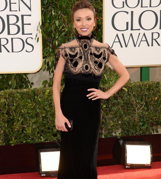 Photos: Golden Globes 2013 red carpet arrivals: Giuliana Rancic