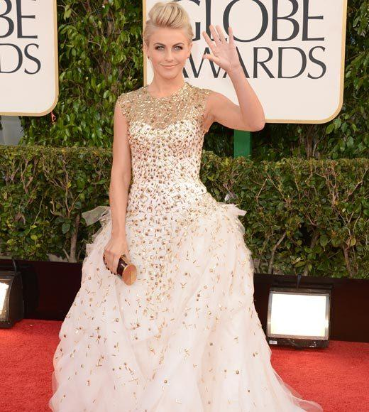 Photos: Golden Globes 2013 red carpet arrivals: Julianne Hough