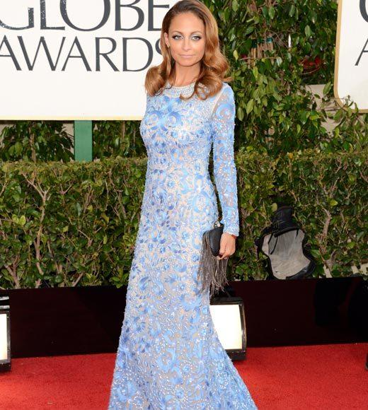 Photos: Golden Globes 2013 red carpet arrivals: Nicole Richie