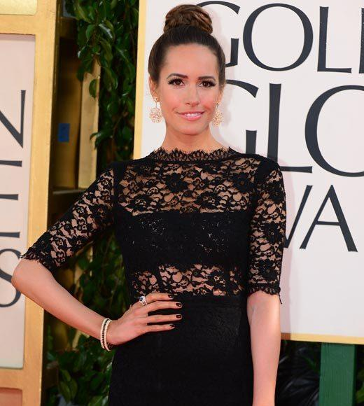 Photos: Golden Globes 2013 red carpet arrivals: Louise Roe