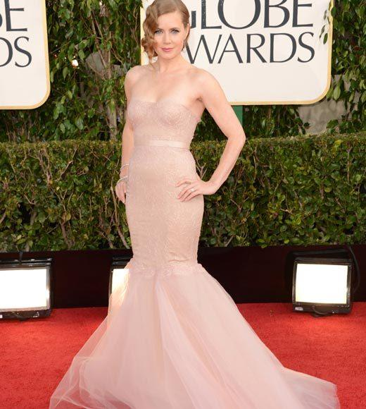 Photos: Golden Globes 2013 red carpet arrivals: Amy Adams
