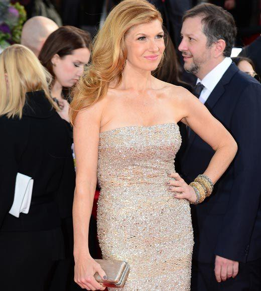 Photos: Golden Globes 2013 red carpet arrivals: Connie Britton