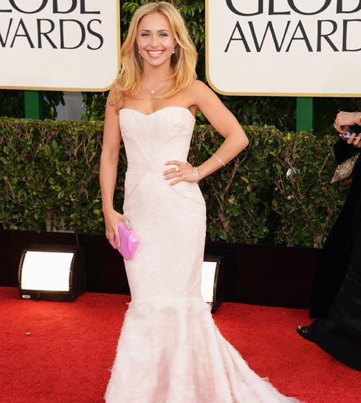 Photos: Golden Globes 2013 red carpet arrivals: Hayden Panettiere