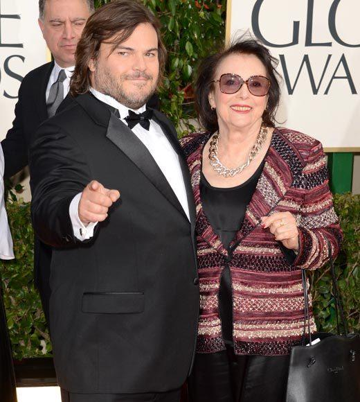 Photos: Golden Globes 2013 red carpet arrivals: Jack Black