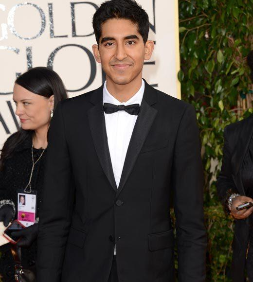Photos: Golden Globes 2013 red carpet arrivals: Dev Patel
