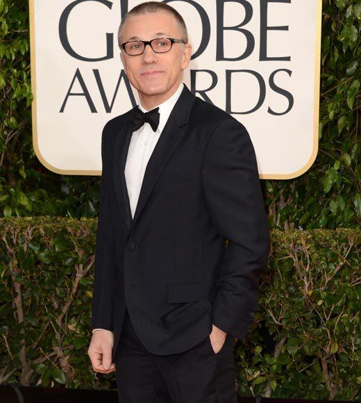Photos: Golden Globes 2013 red carpet arrivals: Christoph Waltz