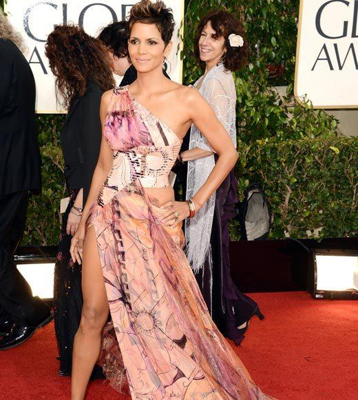 Photos: Golden Globes 2013 red carpet arrivals: Halle Berry