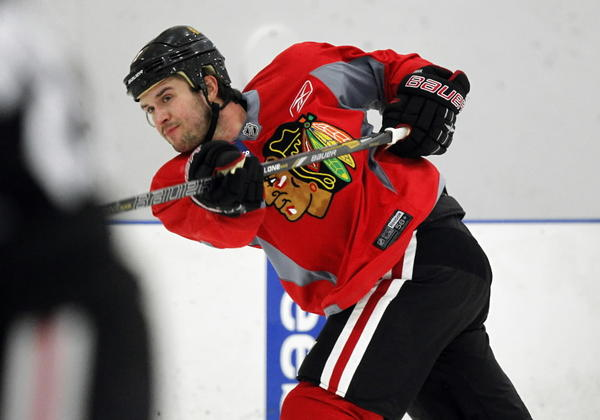 Brent Seabrook and the Blackhawks hope to fare better than last year's fourth-place finish in the Central Division.