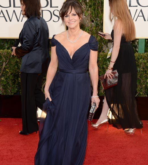 Photos: Golden Globes 2013 red carpet arrivals: Sally Field