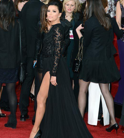 Photos: Golden Globes 2013 red carpet arrivals: Eva Longoria