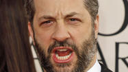 "It was a ""Girls"" night out for Judd Apatow."