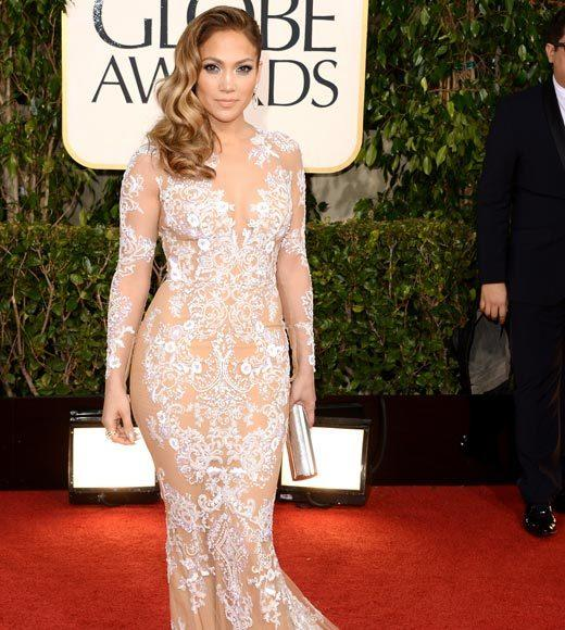 Photos: Golden Globes 2013 red carpet arrivals: Jennifer Lopez
