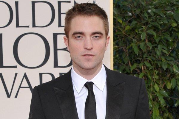 Robert Pattinson on the red carpet at the 70th annual Golden Globe Awards on Sunday.