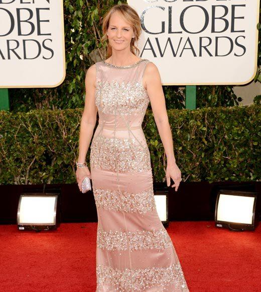 Photos: Golden Globes 2013 red carpet arrivals: Helen Hunt
