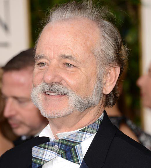 Photos: Golden Globes 2013 red carpet arrivals: Bill Murray