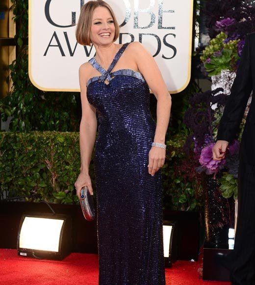 Photos: Golden Globes 2013 red carpet arrivals: Jodie Foster