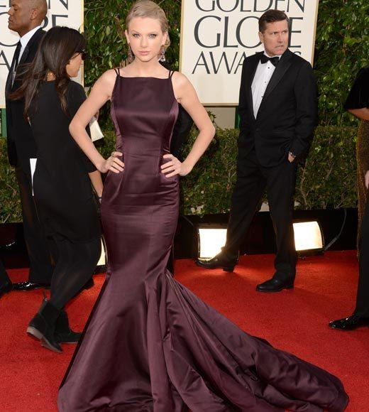 Photos: Golden Globes 2013 red carpet arrivals: Taylor Swift