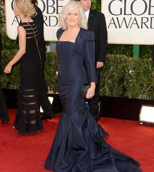 Photos: Golden Globes 2013 red carpet arrivals: Glenn Close