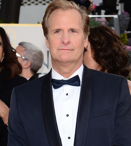 Photos: Golden Globes 2013 red carpet arrivals: Jeff Daniels