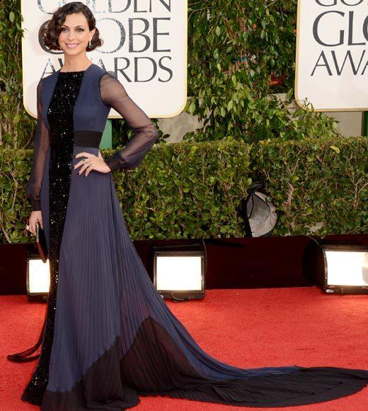 Photos: Golden Globes 2013 red carpet arrivals: Morena Baacarin