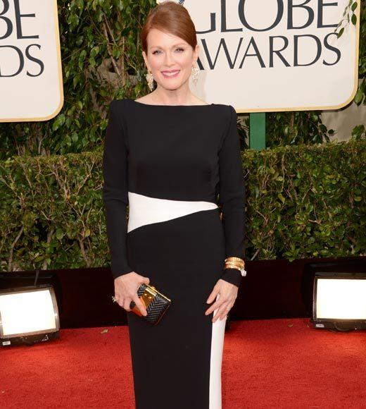 Photos: Golden Globes 2013 red carpet arrivals: Julianne Moore