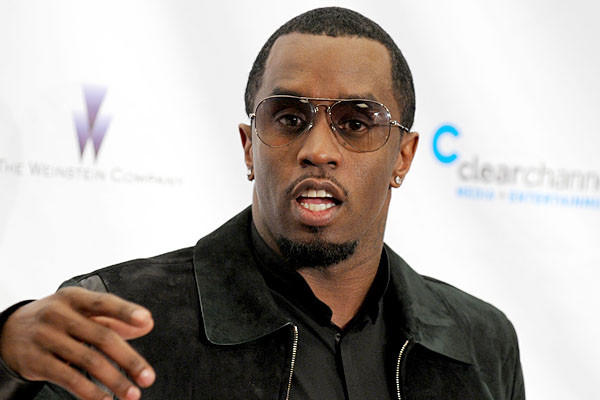 """I'm here to support Lena Dunham and Mark Wahlberg because they're my friends,"" Sean Combs said. ""But I'm trying to get my company off the ground. And that means coming out here and shaking some hands and networking."""