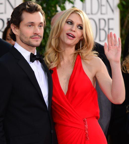 Photos: Golden Globes 2013 red carpet arrivals: Hugh Dancy and Claire Danes