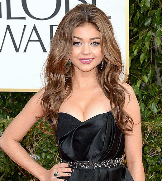 Golden Globes 2013: Best and worst moments: We have no idea what Sarah Hyland said on the red carpet, because we were too distracted by her giant hairdo. Seriously. Is something living in there?   -- Carina Adly MacKenzie, Zap2it