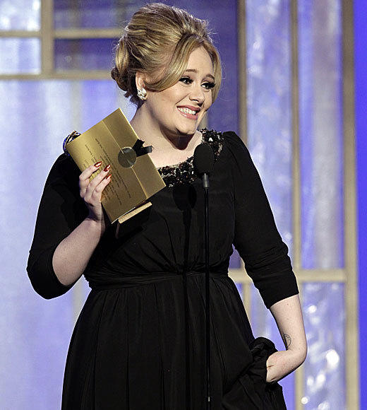 Golden Globes 2013: Best and worst moments: Adele might not have expected to take home her Golden Globe for best song in Skyfall, but the rest of the world did. Still, she was hilarious and adorable when she came on stage repeating, Oh my God! and admitted that she had only come for a night out.  --Terri Schwartz, Zap2it