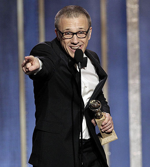 Golden Globes 2013: Best and worst moments: Christoph Waltz acceptance speeches are never predictable, well give him that. His best supporting actor victory for Django Unchained gave him a chance to thank Quentin Tarantino, the man who has now directed him to two Globe wins. Quentin, you know that my indebtedness to you and my gratitude knows no words, Waltz said before segueing into something were pretty sure no one understood about ships and horses and saddles and the North Star. Maybe its time to ask Tarantino to write an acceptance speech too?   -- Geoff Berkshire, Zap2it