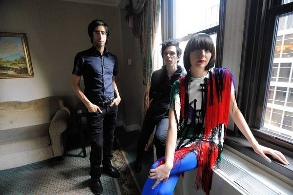 The Yeah Yeah Yeahs in New York City in 2009.