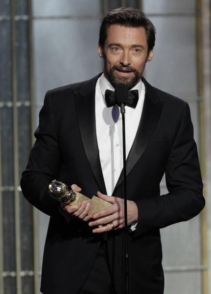 "Hugh Jackman, ""Les Miserables"""