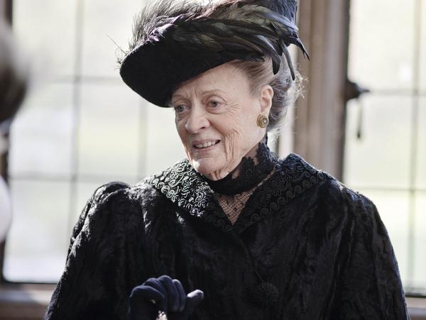 "Maggie Smith, ""Downton Abbey"""