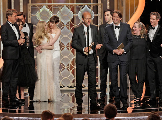 2013 Golden Globes Winners